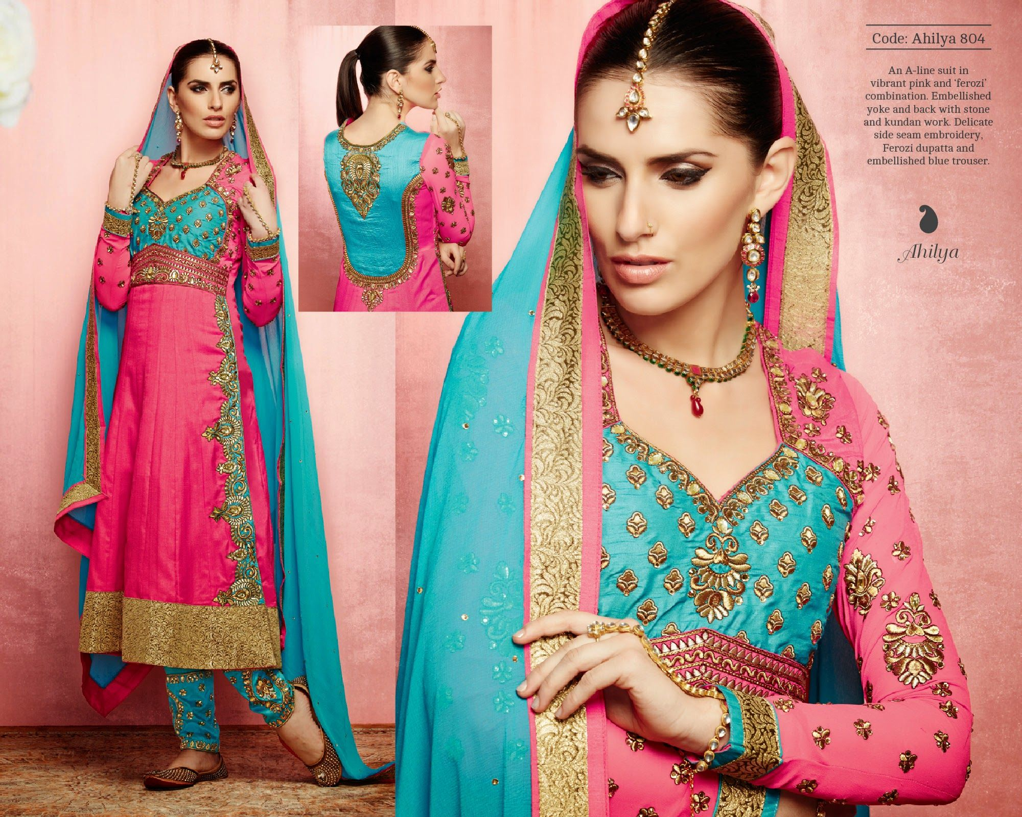 Pin by trendyweaves on JODHA DESIGNER SUITS | Pinterest | Silk and ...