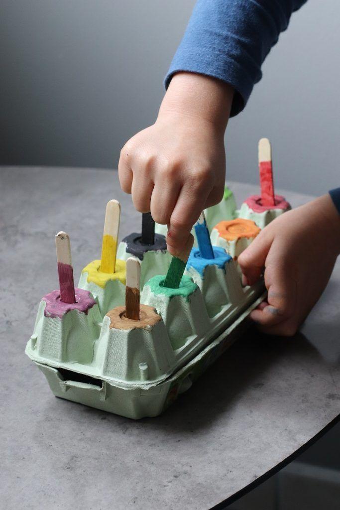 Activité manuelle enfant : l'association de couleurs. ⋆ Club Mamans