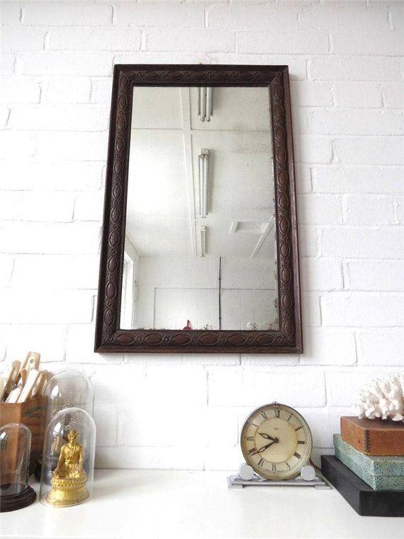 Large Beveled Edge Mirror