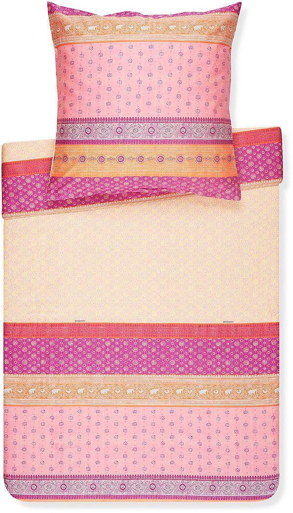 bettw sche bassetti fong mit v geln hochwertige bettw sche indische saris und bettwaesche. Black Bedroom Furniture Sets. Home Design Ideas