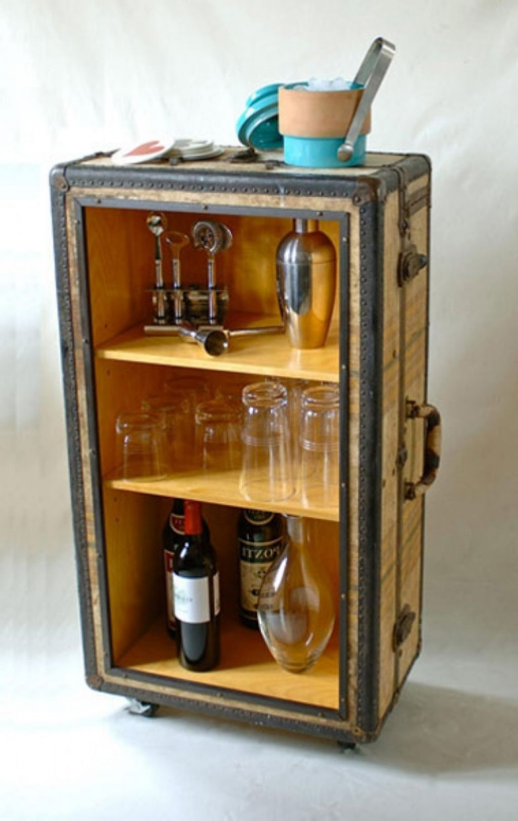 Nice Interior , Mini Home Bar Ideas For Super Way To Entertain Your Guests : Diy  Mini