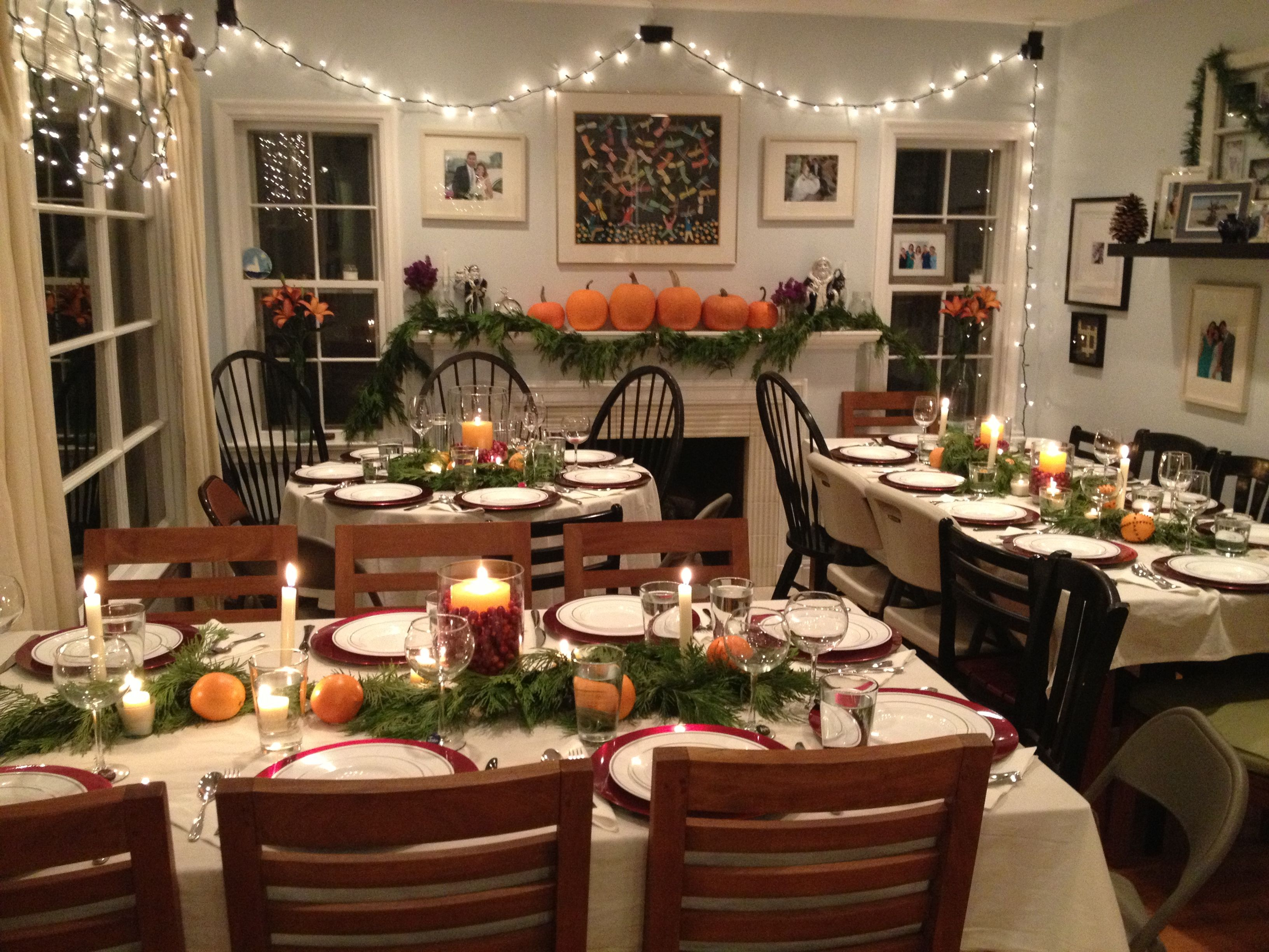 Ordinary Dinner Party Ideas For 20 Part - 5: Thanksgiving