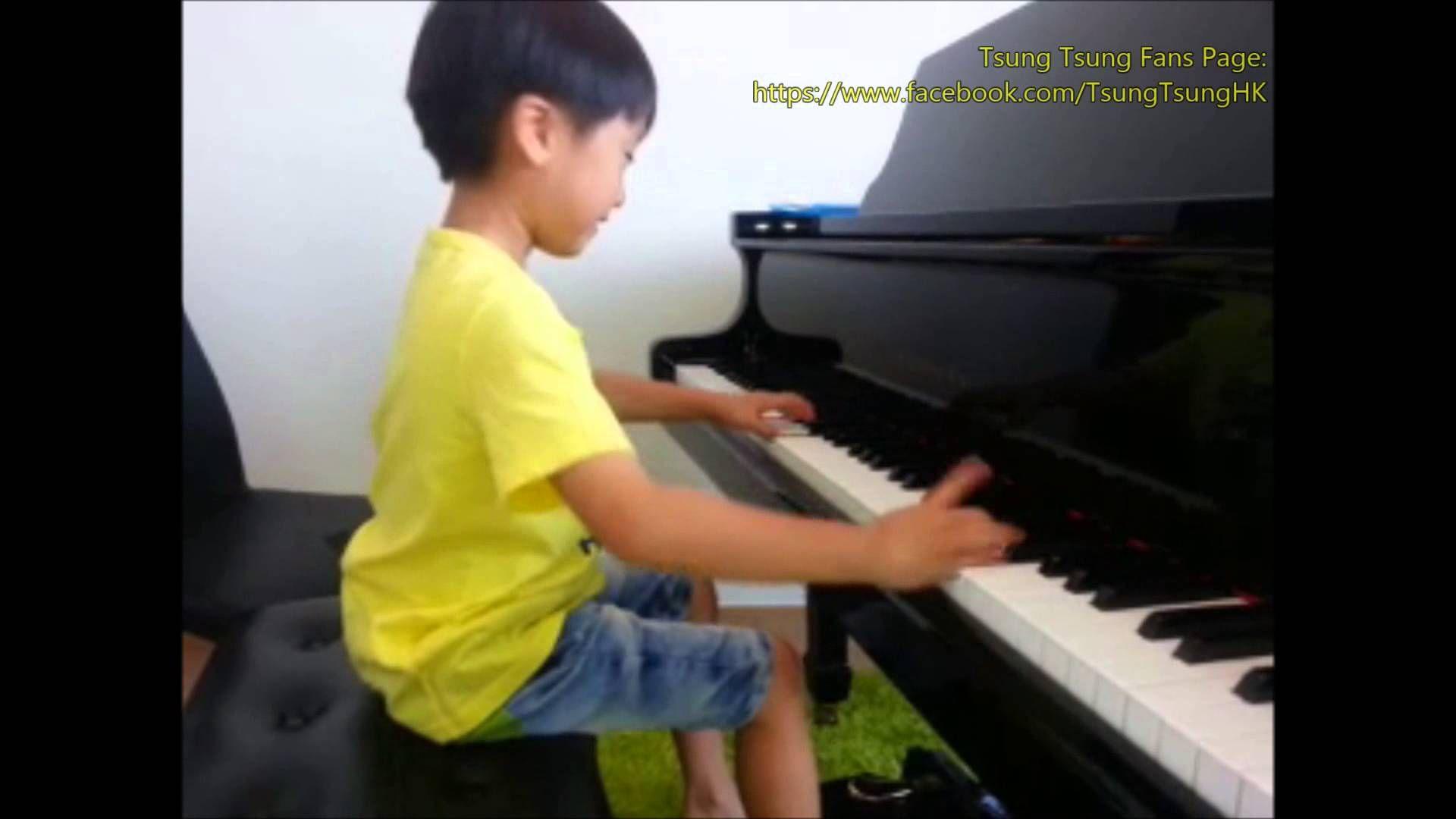 Piano Prodigy Tsung Tsung plays bumblebee - YouTube