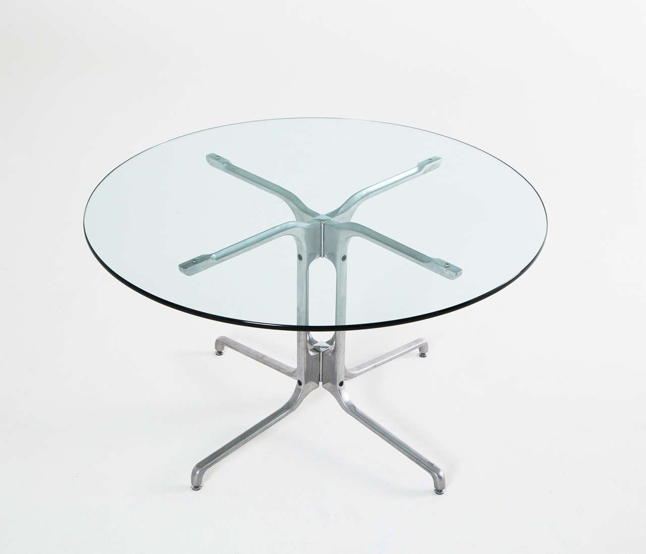 Fabricius and Kastholm Inspired Center Table, Denmark 1970's | From a unique collection of antique and modern center tables at http://www.1stdibs.com/furniture/tables/center-tables/