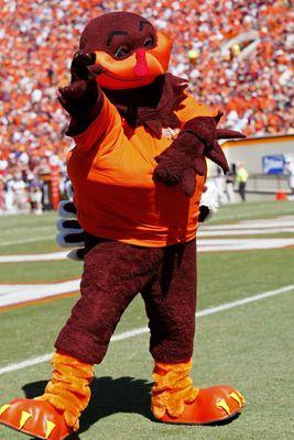The 50 Best Mascots In College Football Virginia Tech Hokies