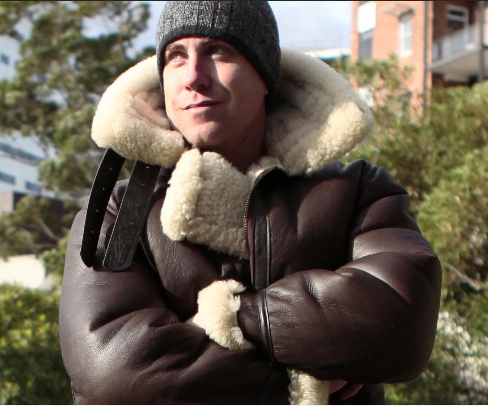 B3 sheepskin bomber jacket | Meine Freunde | Pinterest | Sheepskin ...