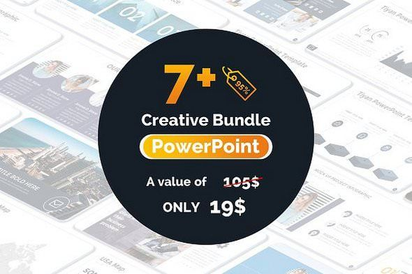 Creativemarket Seen Powerpoint Templates Bundle  Free Download