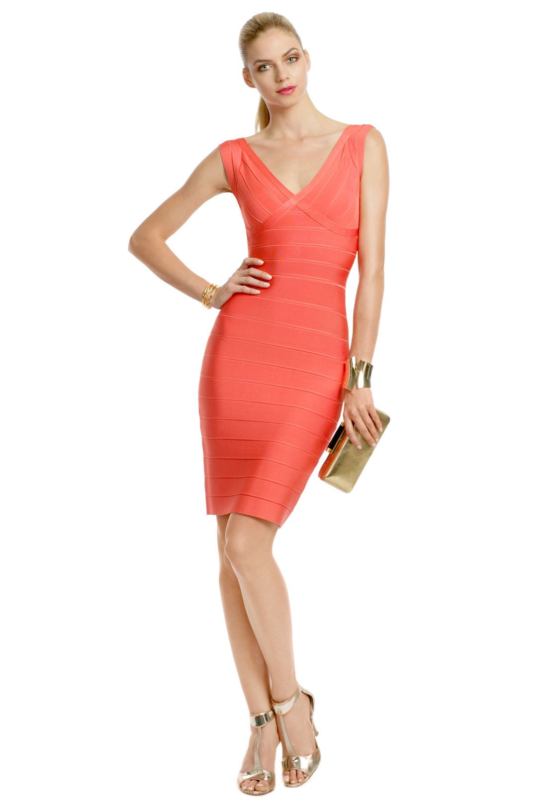 coral dress for wedding Coral Coconut Rum Sheath