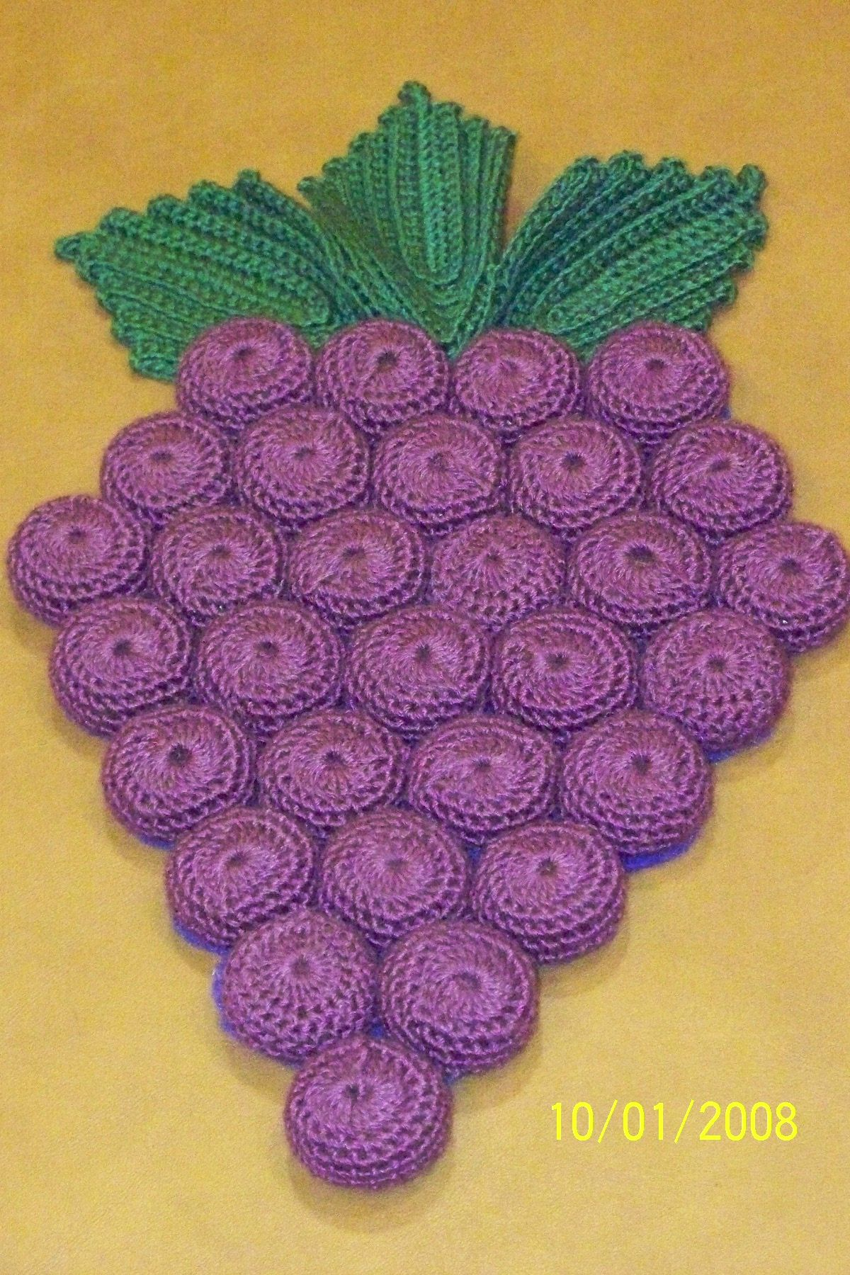 This Is A Bottle Cap Crochet I Made This Potholder For A Secret