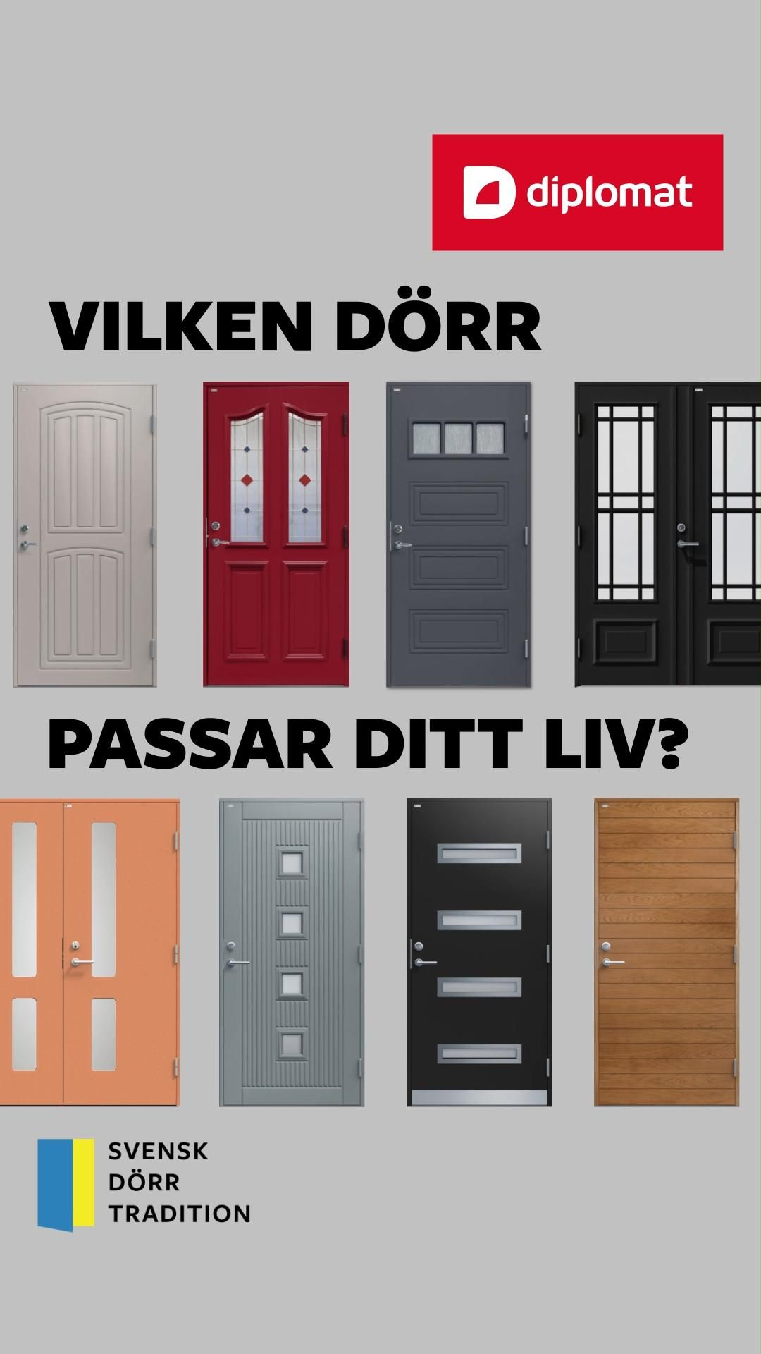Vilken dörr passar ditt liv?