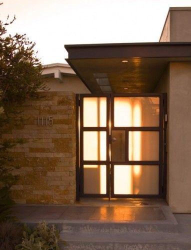 Entry Gate - modern - entry - orange county - Laidlaw Schultz architects & Entry Gate - modern - entry - orange county - Laidlaw Schultz ... pezcame.com