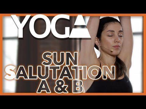 ashtanga vinyasa yoga  sun salutation a and b  5 minute