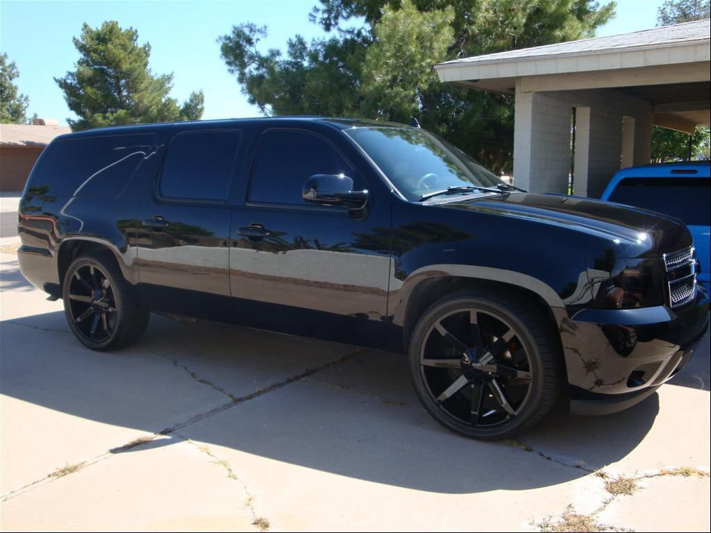 Suburban Blacked Out Cars Amp Suvs Pinterest Wheels