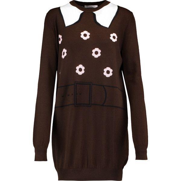 Vivetta Intarsia wool sweater ($305) ❤ liked on Polyvore ...