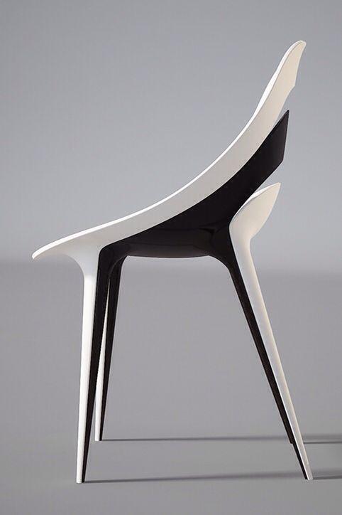 Concept Chair Concept De Chaise Blanc Noir Chaise Unique Mobilierdesign Chaisedesign Assise Modernfurnitur Modern Mobilya Mobilya Fikirleri Mobilya