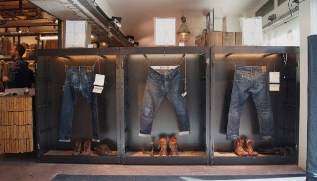 butcher of blue book presentation exhibition cool denim
