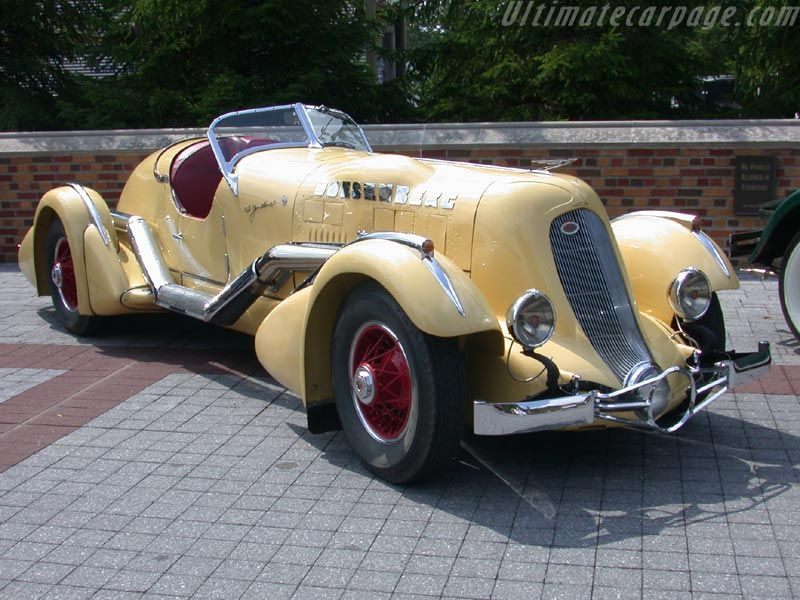 1934 Duesenberg model SJ Mormon Meteor Speedster...modeled after the great race car of the same name...