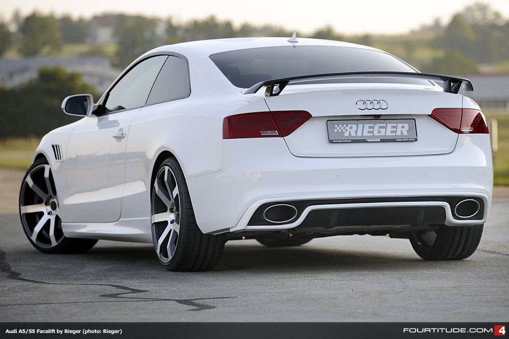 Audi A5 - Love the spoiler, hate the rest of the kit  | New Ride