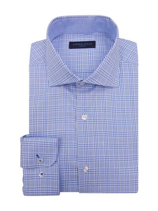 Andrew Fezza Printed Slim Fit Dress Shirt