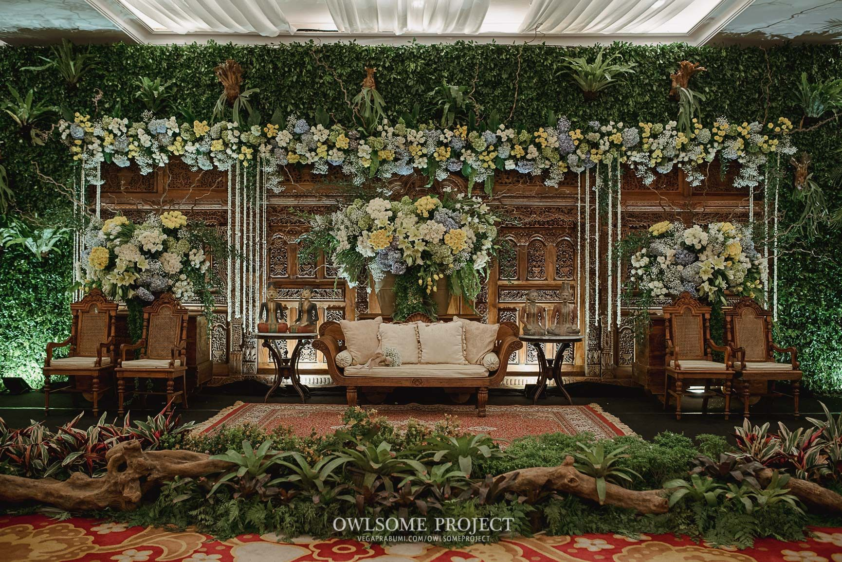 Pernikahan Dengan Konsep Jawa Rustic Di Balai Kartini