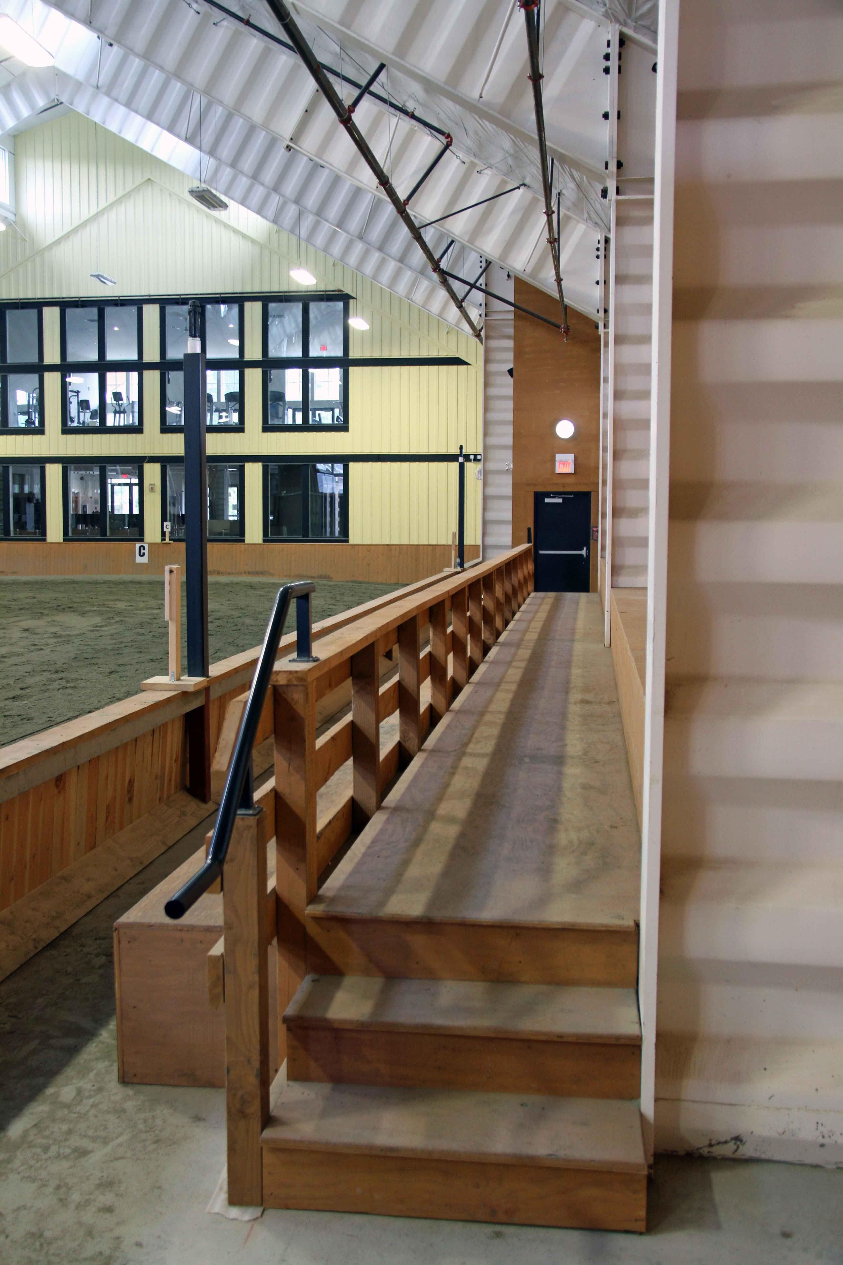 High Point Indoor Arena Viewing Area Dream Horse Barns Indoor Arena Dream Barn