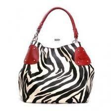 Red White Black Zebra Purse Accessory Bags 2 Pinterest