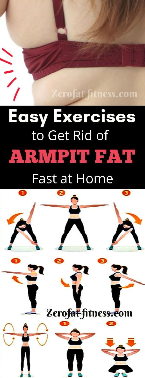 Exercises to Get Rid of Armpit Fat Fast at Home.These best workout will eliminate underarm fat, back...