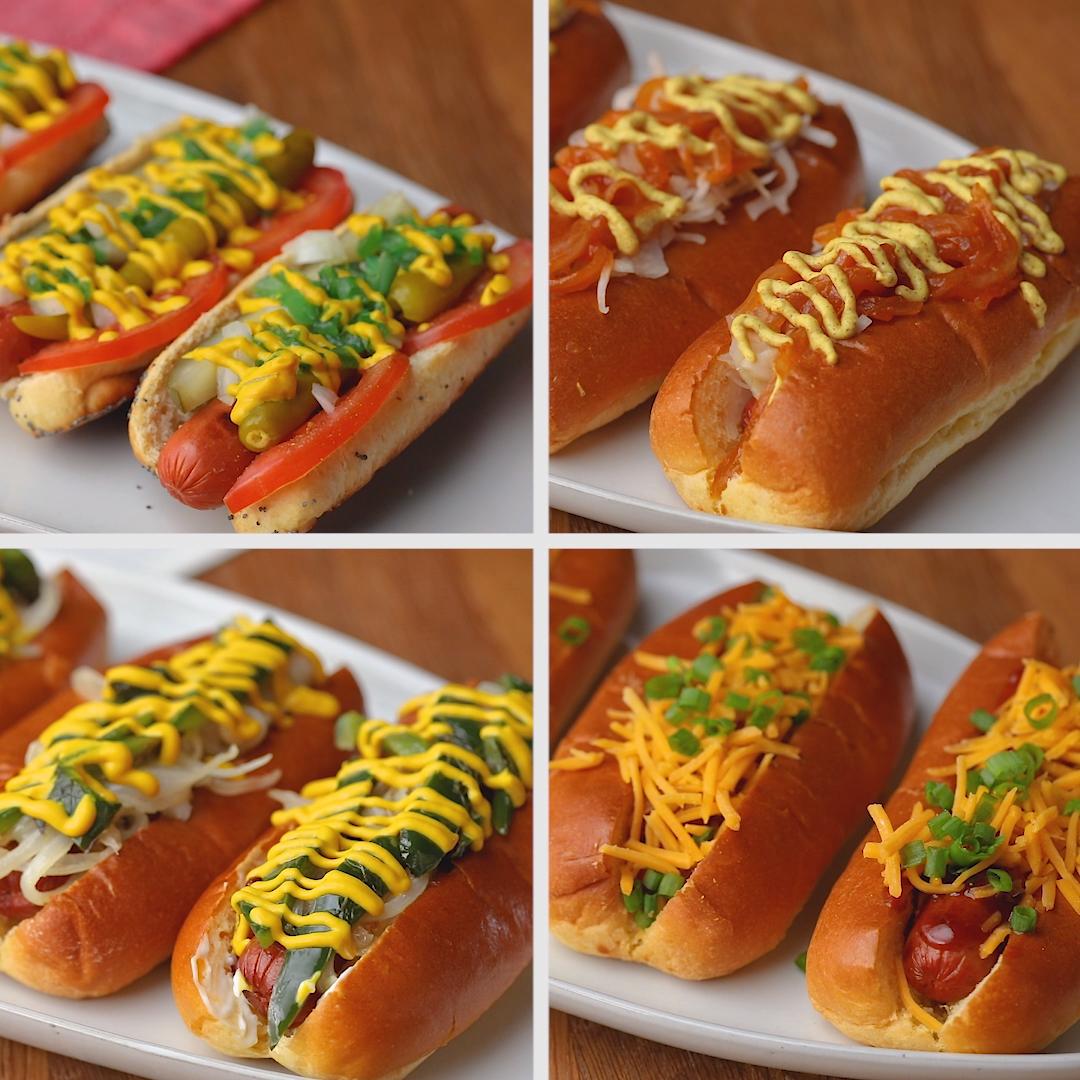 Hot Dogs Across America Video Dog Recipes Hot Dog Recipes Recipes