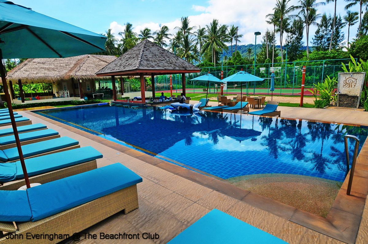 Samui Beach Village Laem Sett Koh Samui Thailand The Pool And Tennis