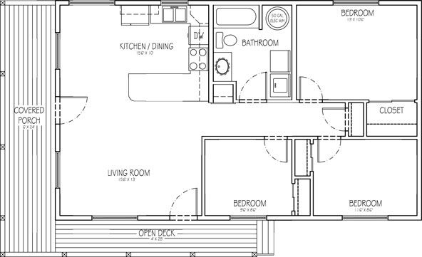 Horse Barn With Living Quarters Floor Plans: Steel Buildings With Living Quarters Floor Plans