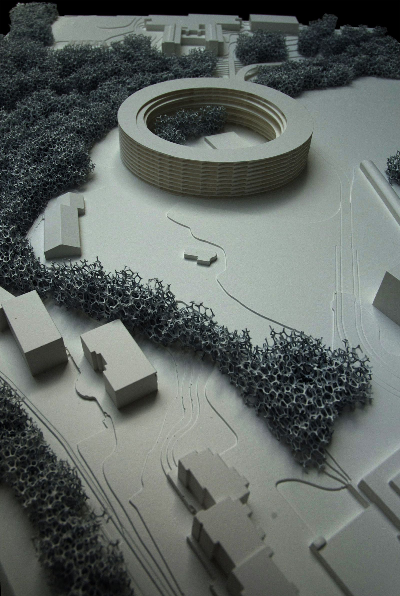 Rock Solid Advice On How To Spruce Up Your Landscaping Maquettes Architecture Architecture Design Garage