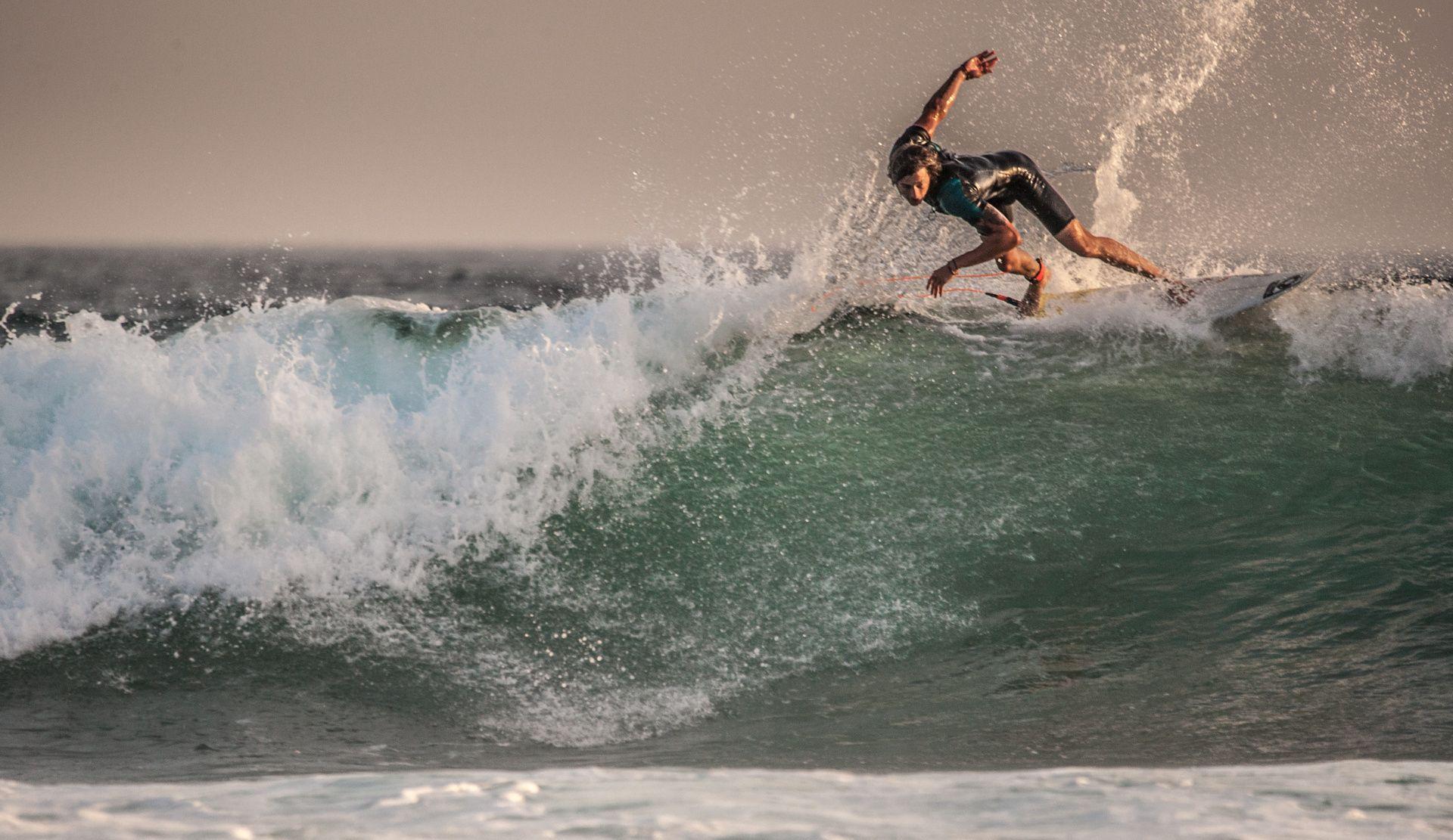Tenerife surfing - Lovely evening in Las Americas, Tenerife