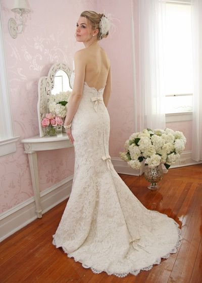 Vintage Inspired Wedding Dresses Lace