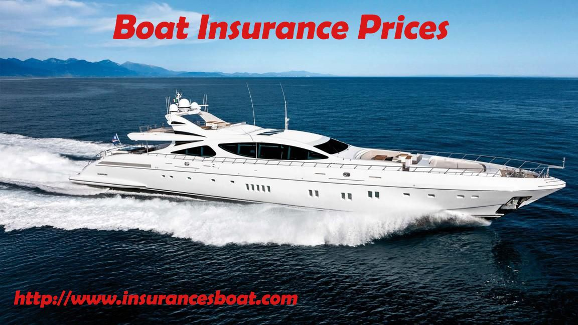 Boat Insurance Prices Yat Gemi