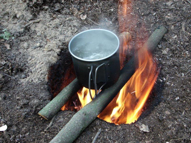 Dakota Fire Hole Cooking Fire Pit Landscaping Ideas Design