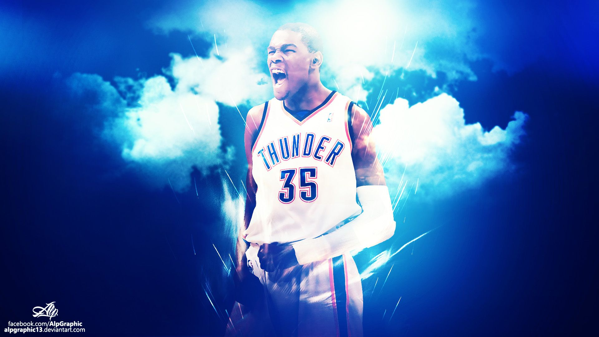 Russell westbrook wallpaper iphone wallpapersafari - Kevin Durant Wallpapers High Resolution And Quality Download