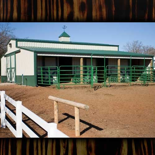 Barn kits pole barns horse barns horse barn sheds for Equestrian barn plans