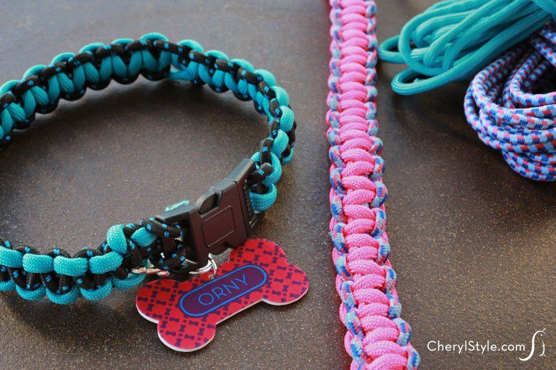 DIY Braided Dog Collar Video Tutorial Diy dog collar