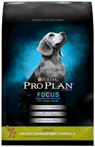 Purina Pro Plan Dry Dog Food Focus Adult Weight Management Formula