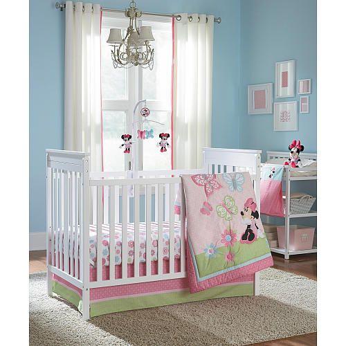 Best Disney Baby Minnie Mouse 4 Piece Crib Bedding Set Disney 400 x 300