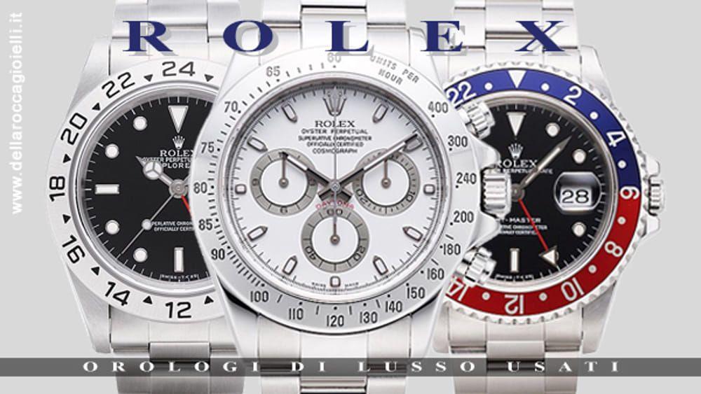 taglia 40 c729d 4d15a Che i Rolex usati siano tra gli orologi più richiesti al ...