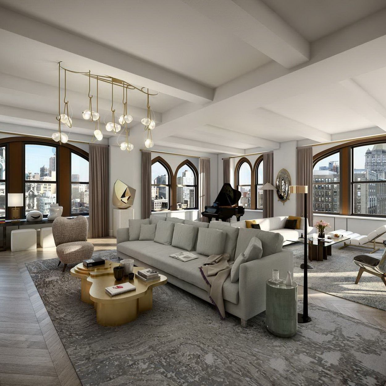 A historic masterpiece of its time the crown penthouse at 212 fifth avenue is in a class of its own and the most magnificent trophy residence on