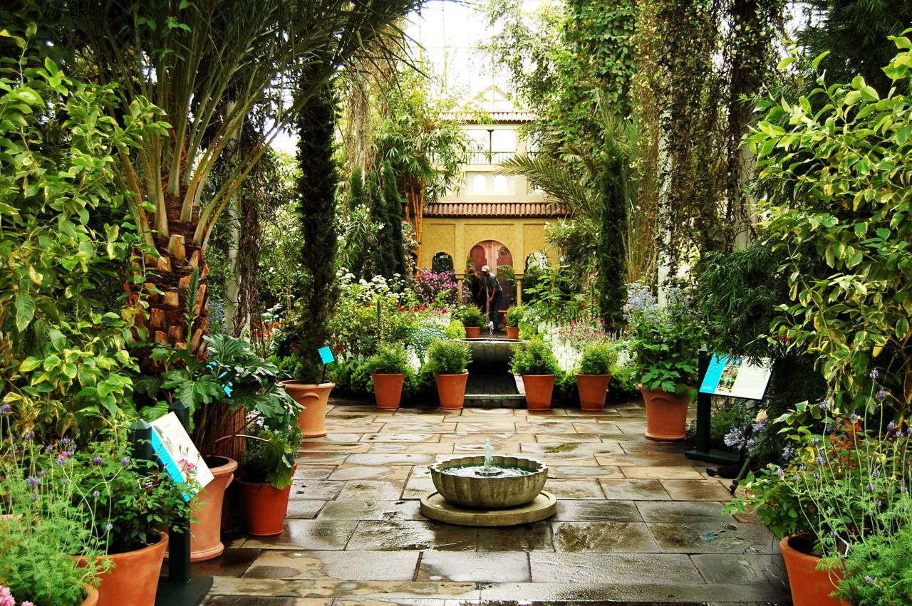 Attractive Spanish Gardens | Our Latest Exhibition, Spanish Paradise: Gardens Of The  Alhambra .