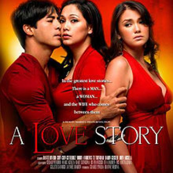 A Love Story | Lights Camera Action | Love story movie, Pinoy movies