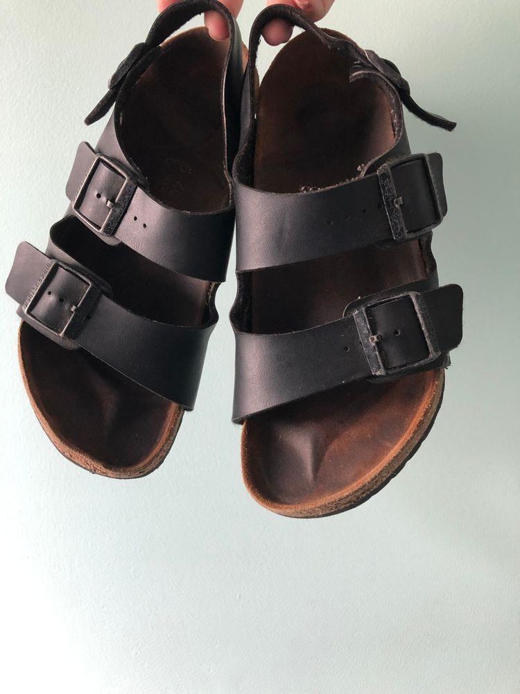 4e00af713d46 RARE Birkenstock Milano Sandal Women size 40 (9) With Back-strap HardSole