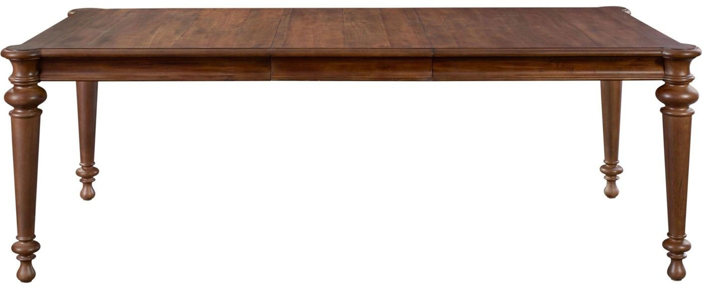 Broyhill Furniture Cascade Extendable Rectangular Leg Dining Table 4940 532 Broyhill Furniture Dining Table Legs Dining Table