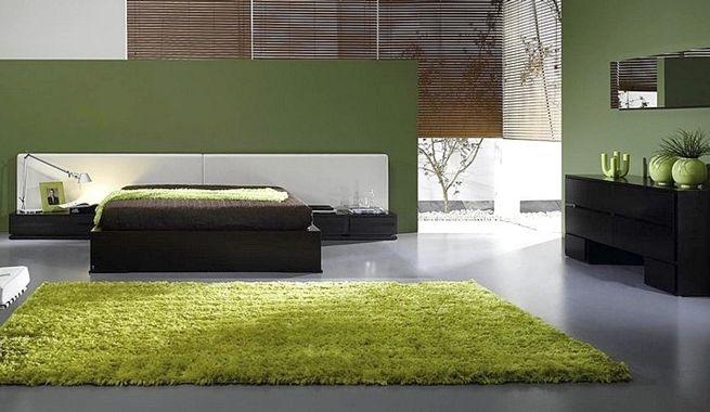 Dormitorios en verde para esta primavera habitaciones - Dormitorio verde ...