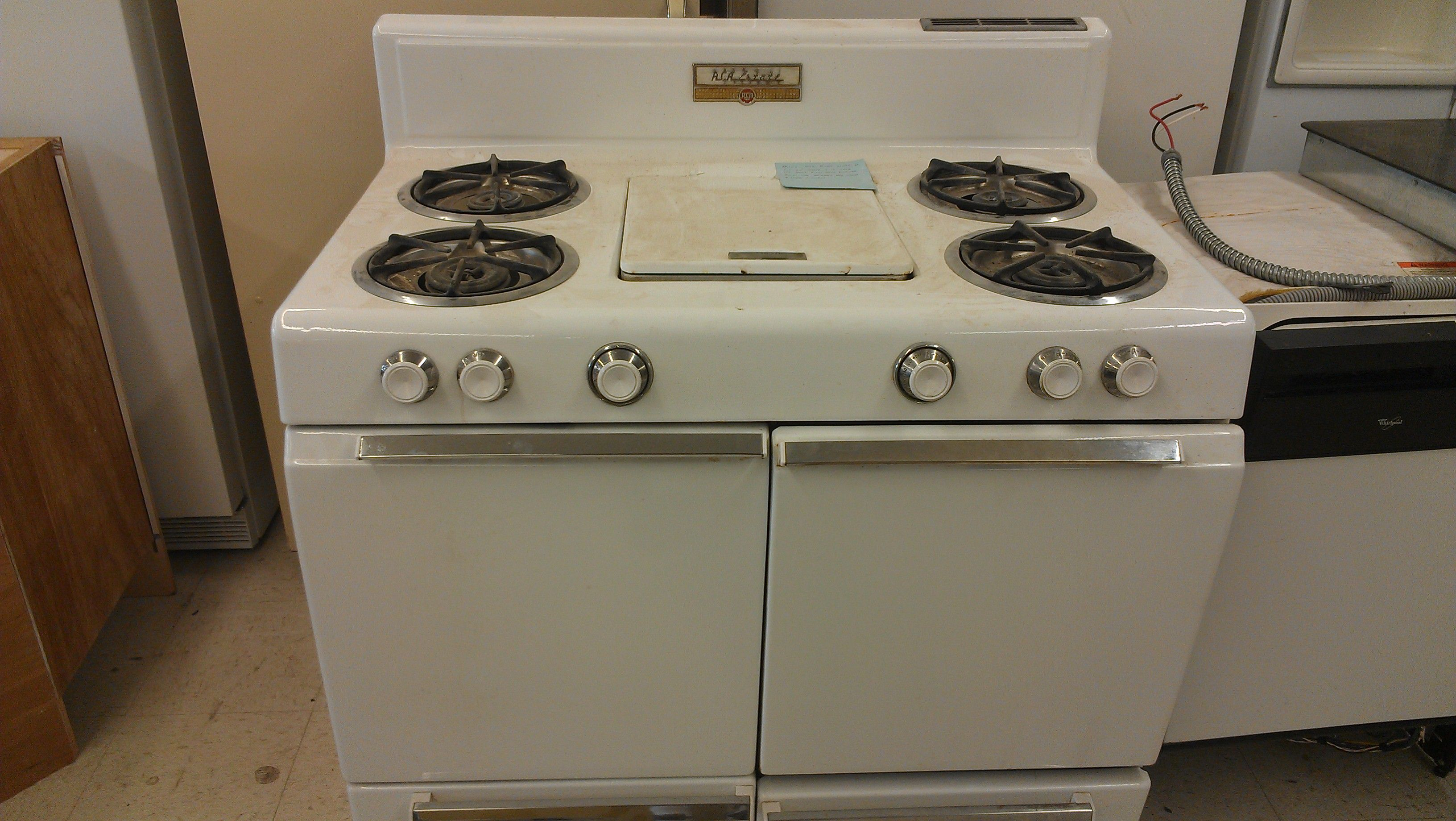 rca estate gas range c 1950s automatic washers refrigerators and