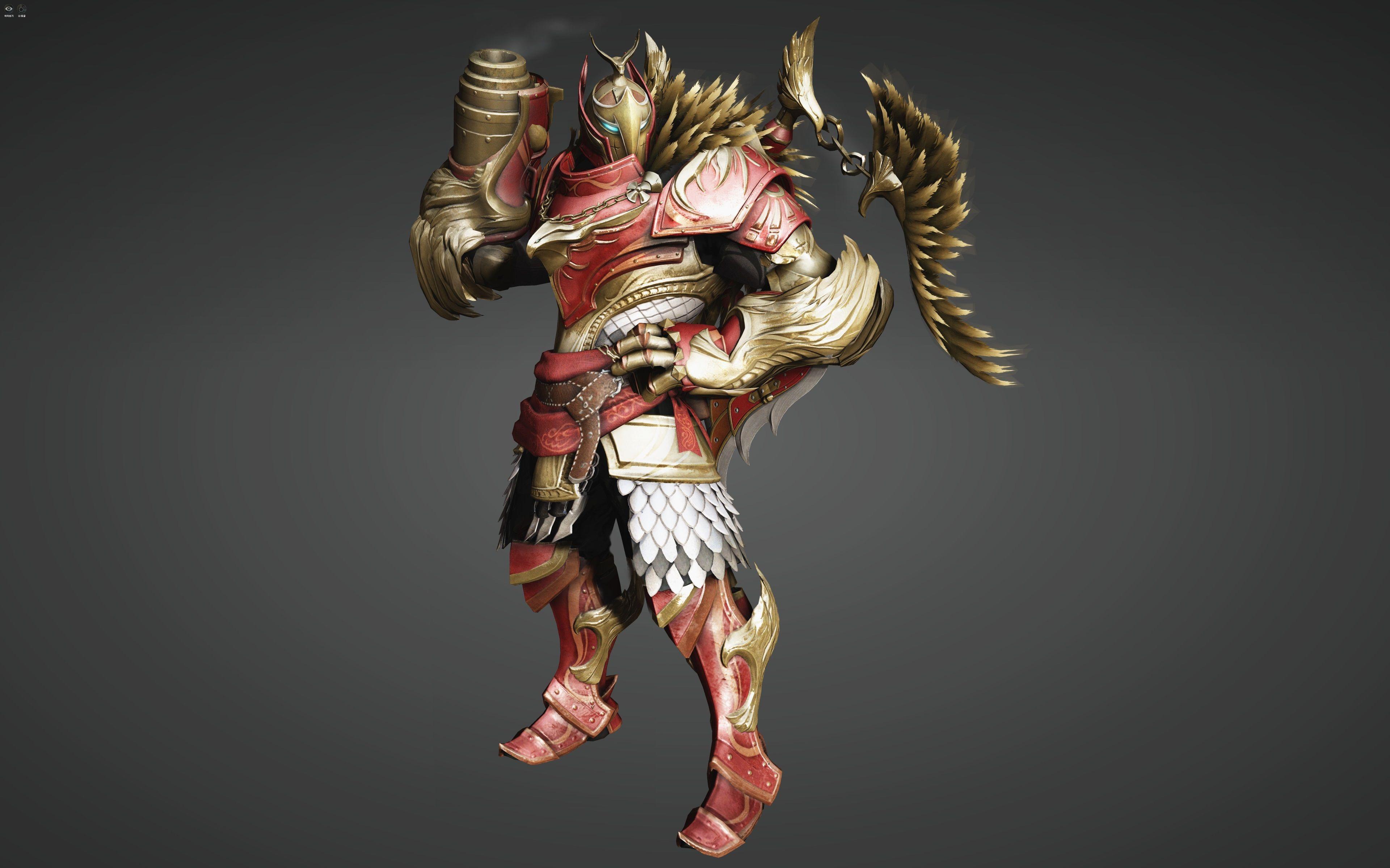 3840x2400 Black Desert Online 4k Full Hd Hand Cannon Black Samurai Gear