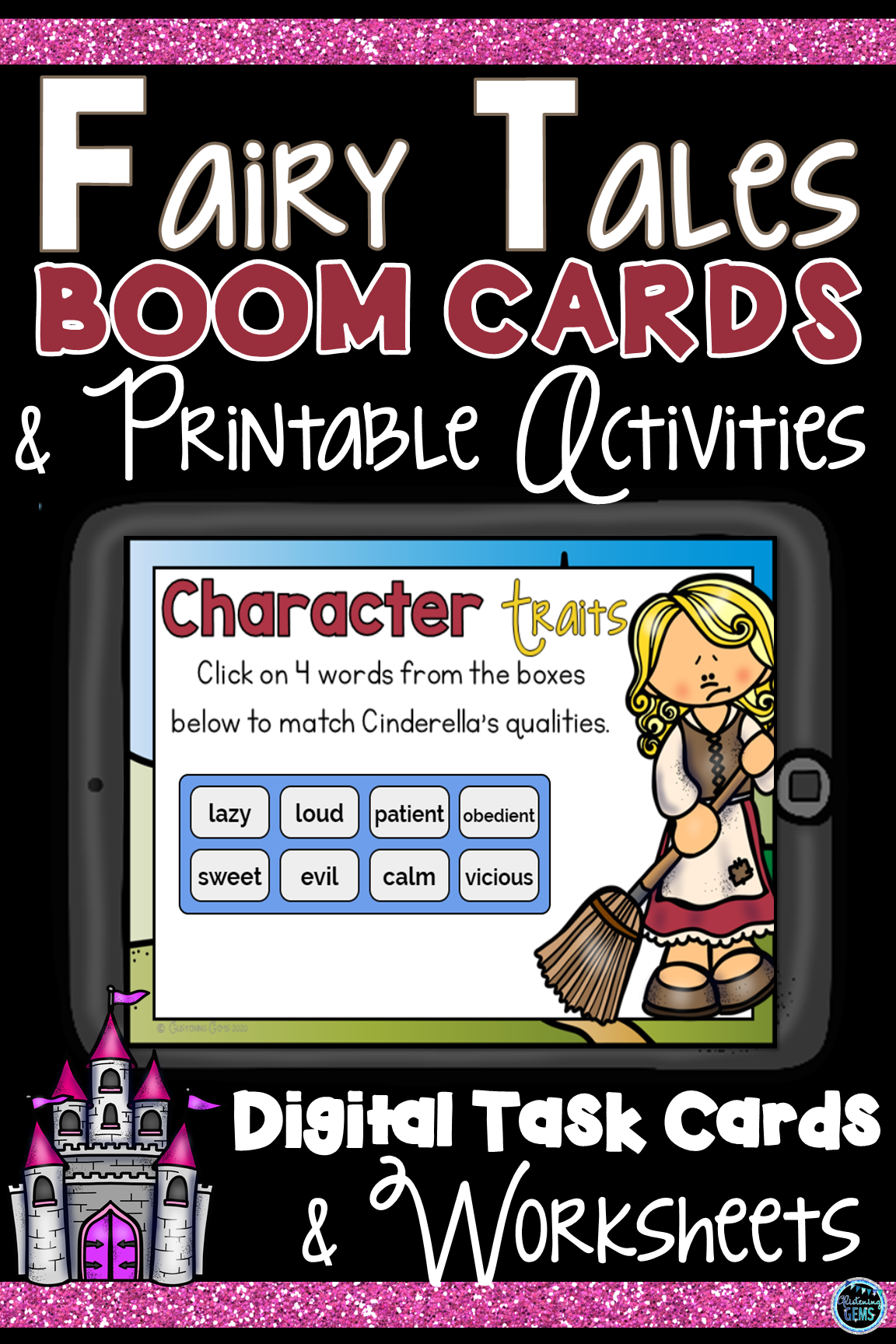 Fairy Tales Character Traits Boom Cards And Activities In